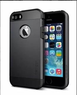 Capa Case Anti Impact Iphone 5 E 5s + Pelicula