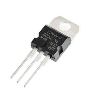 Regulador L7805cv 10 Peças
