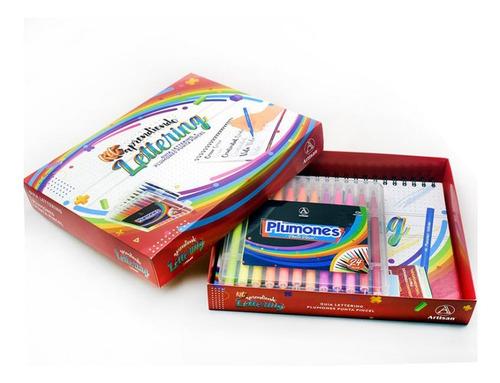 Kit Lettering Artisan + Plumón X24