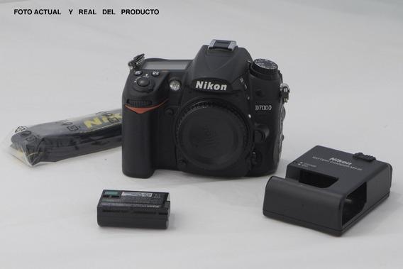 Camara Nikon D7000 A+ Menos De 6500 Tiros