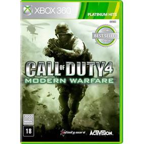 Call Of Duty 4 Modern Warfare Xbox 360 Original Novo Lacrado