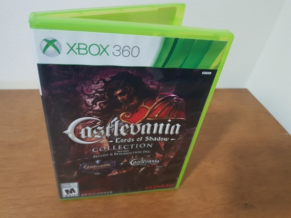 Castlevania Lords Of Shadow Collection Usado Xbox 360