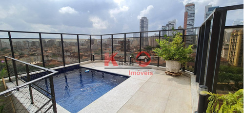 Cobertura Com 4 Dormitórios À Venda, 258 M² Por R$ 1.580.000,00 - Boqueirão - Santos/sp - Co0223