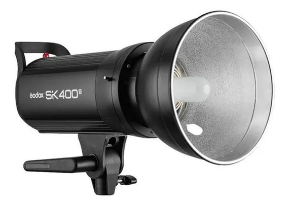 Flash Estudio Profissional Tocha Sk400 Ii Godox - 220v Pronta Entrega- Envio Imediato- Parcele Sem Juros- Frete Grátis