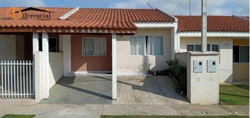 Casa À Venda, 45 M² Por R$ 175.000,00 - Santa Terezinha - Fazenda Rio Grande/pr - Ca0205