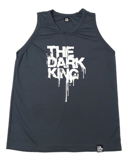 Musculosa Talle Especial Deportiva Dryfit Logo The Dark King