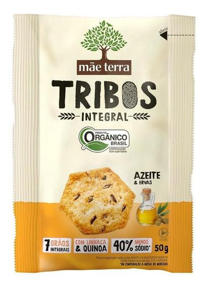 Snack Orgânico Azeite & Ervas Mãe Terra Tribos Pacote 50g