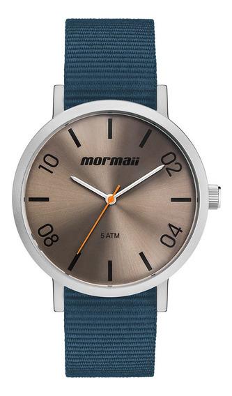 Relógio Analógico Mormaii Steel Basic Prata Mo2035kb/0a