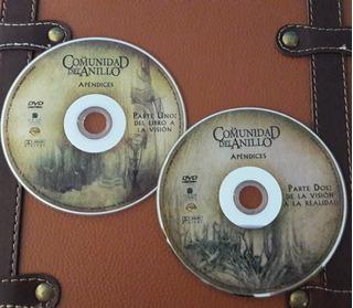 Dvd Nuevo Apendices Ed Extendida Señor De Los Anillos
