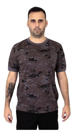 Camiseta Militar Camuflada Petróleo Atack Militar - Origital