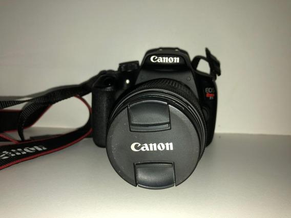 Camera Canon Eos T5 Usada + Lente 18-55mm Com 10,000 Clikis