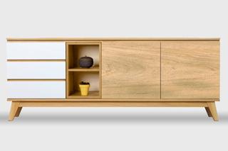 Mueble De Tv Diseños Escandinavo Aparador Madera 180