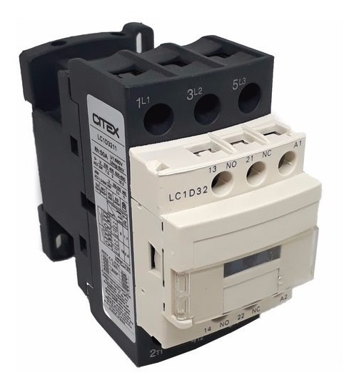 Lc1-d32 Contator Tripolar +1na +1nf Cjx2-32