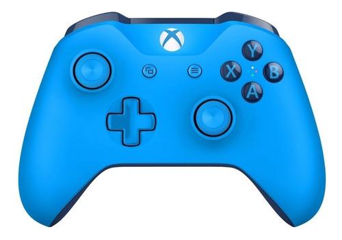 Joystick inalámbrico Microsoft Xbox Mando inalámbrico Xbox One blue