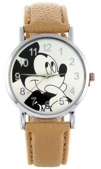 Relógio De Pulso Feminino Mickey Mouse + Bateria Extra