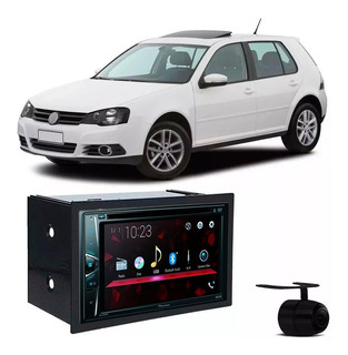 Dvd Automotivo Pioneer Avh-298bt Bluetooth 2din Moldura Golf