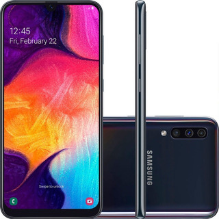 Smartphone Samsung Galaxy A50 Tela 6 4 Octa Core 128gb 4g