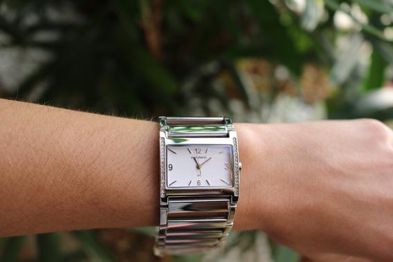 Relógio Feminino Mondaine Pedrinhas Cravejadas Frete Free