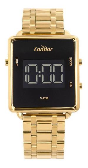 Relógio Condor Feminino Digital Dourado Cobjf86aa/4d