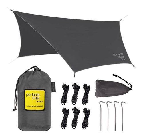 Toldo Techo Portatil Para Camping Hamaca - Portable Style