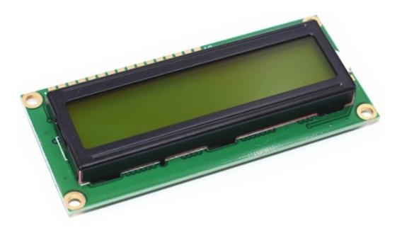 Display Lcd 16x02 16x2 1602 Fundo Verde Arduino Pic