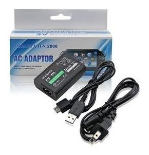 Cargador Para Psp Vita Con Cables Y Caja Original