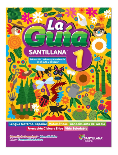 Imagen 1 de 4 de Caja 29 Paq Guías Santillana 1º Primaria 2021  + Paq Docente