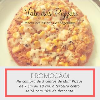 Pizzas Pré-assadas E Congeladas.