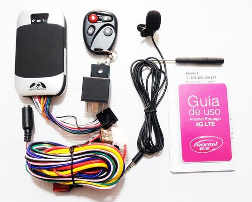 Gps Tracker Homologado Gps303g, Satelital Para Carro O Moto