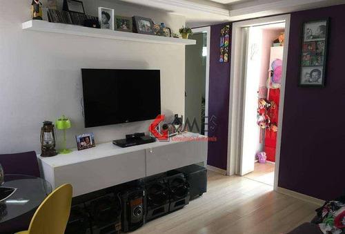 Apartamento Com 2 Dormitórios À Venda, 52 M² Por R$ 185.000 - Alves Dias - São Bernardo Do Campo/sp - Ap2594