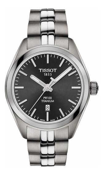 Reloj Tissot Pr100 Titanium T1012104406100 Original