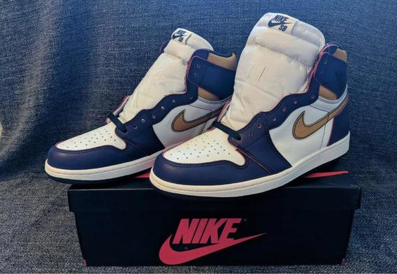 Tênis Nike Jordan 1 Sb la To Chicago 43br