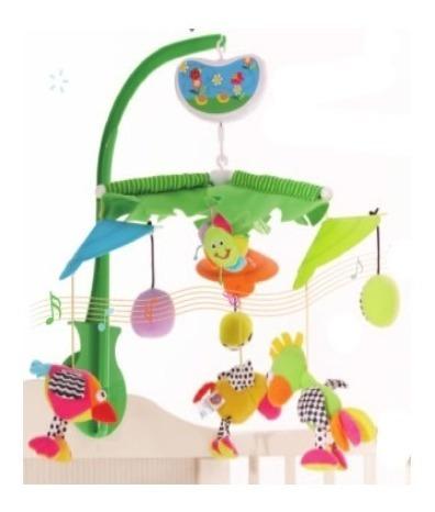 Movil Musical Para Cuna Biba Toys Gd030