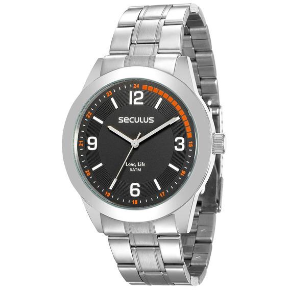 Relógio Seculus Masculino Original 28885g0svna2