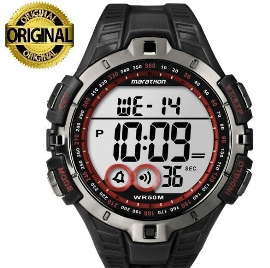 Relógio De Pulso Timex Marathon T5k423 Com Caixa Original