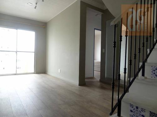 Cobertura Com 3 Dormitórios À Venda, 125 M² Por R$ 1.200.000,00 - Vila Madalena - São Paulo/sp - Co0030