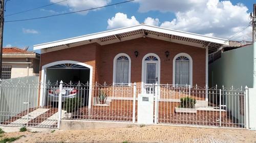 Casa Com 2 Dormitórios À Venda, 190 M² Por R$ 508.500,00 - Vila Nova Teixeira - Campinas/sp - Ca6485