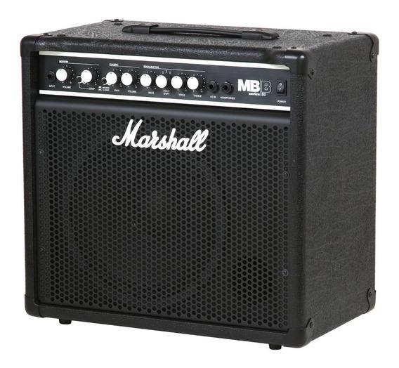 Amplificador Marshall Para Bajo 30 W 2 Canales Mb30 + Cuotas