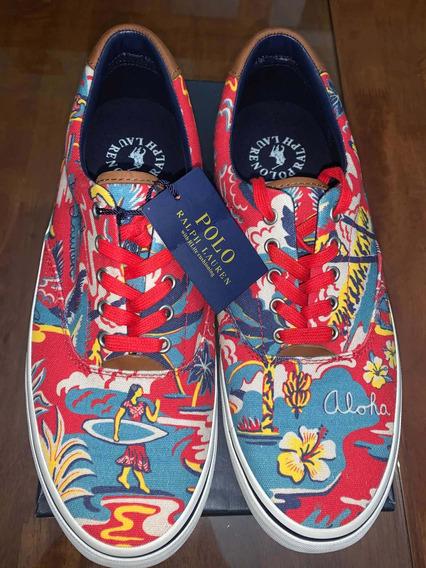 Auténticos Polo Ralph Lauren Aloha Shoes Importados 10d