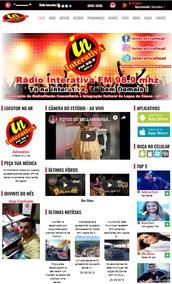 Site Administrável Rádio Fm Ou Web