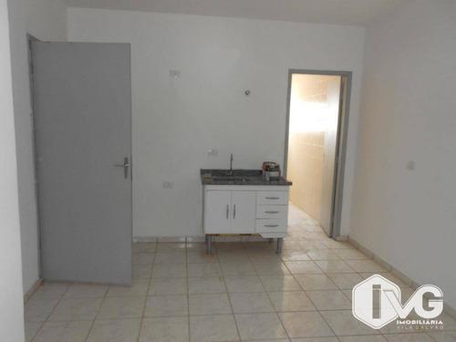 Apartamento Para Alugar, 30 M² Por R$ 800,00/mês - Jardim Palmira - Guarulhos/sp - Ap1863