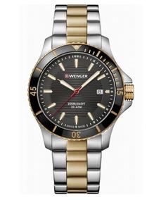 Relógio Masculino Suíço Wenger Seaforce Aço Inox 01.0641.127