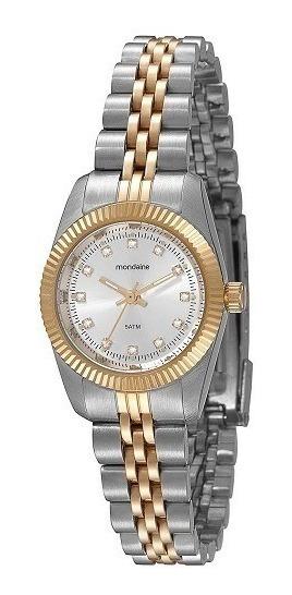 Relógio Mondaine Feminino Bicolor 94086lpmtbs2