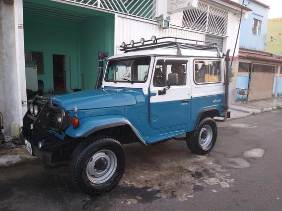 Toyota Bandeirante Jipe 1982 Reliquia