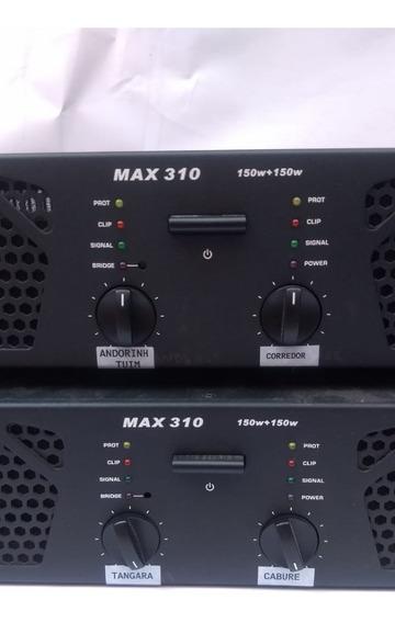 Amplificador De Potência Max-310 Skp