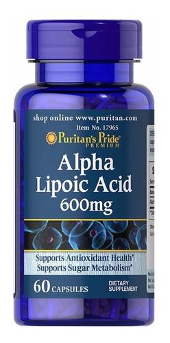 Acido Alpha Lipoic Alfa Lipoico