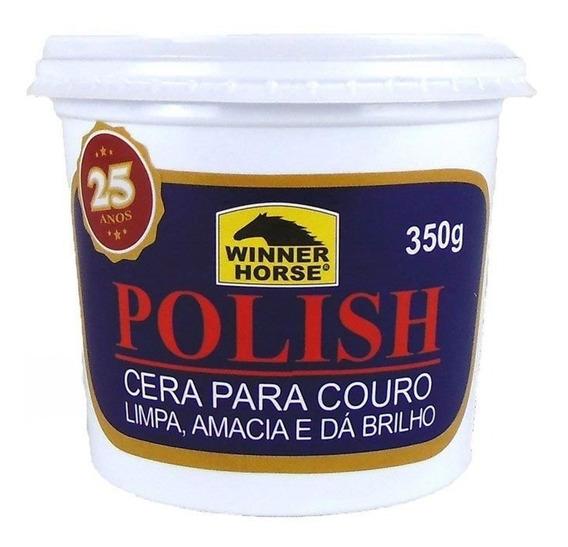 Cera Para Hidratação De Couro Incolor Polish