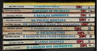 1977 A 1982 - 10 Hq Quadrinhos Tex Editora Vecchi 2ª Edição
