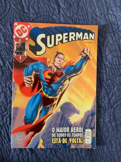 Superman 1 - 1ª Série - Panini
