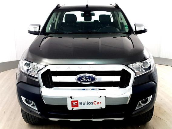 Ford Ranger Limited 3.2 20v 4x4 Cd Aut. Dies. - Cinza -...